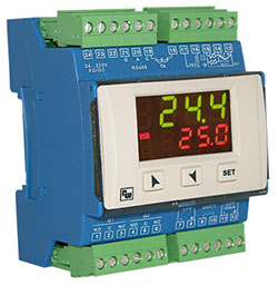 Temperature-/process controller