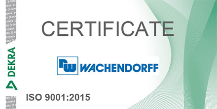 Certification DIN EN ISO 9001